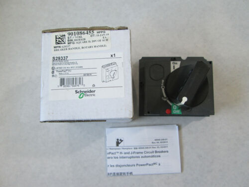 New Schneider Electric S29337 Circuit Breaker Rotary Handle