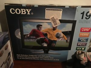 "19"" flat screen tv"