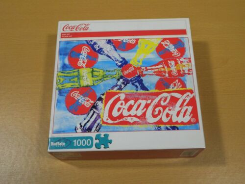 "Coca-Cola 2012 Collectable Puzzle 1000 pc ""Pop Art"""