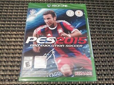 Used, PES 2015 Pro Evolution Soccer (Xbox One Video Game) New, Sealed SHIPS TODAY for sale  Shipping to Nigeria