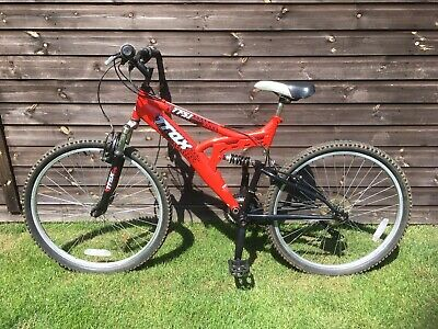 Trax TFSI (Halfords) full suspension boys bike - in very good condition