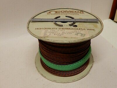 Omega Engineering Gg-t-20s Thermocouple Wire Type T 700 Feet Glass Braid Strand