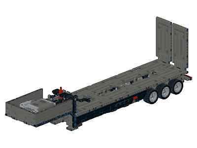 Bauanleitung Instruction Tieflader Mack 42078 Eigenbau Unikat Moc