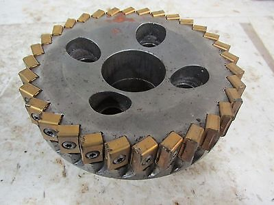 Ingersoll Face Mill W 32 Carbide Inserts 6h1a05l06 Prc 9-00 40577gn
