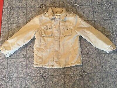 Ruum American Kid's Wear Boy's Sm 5/6 Khaki Jacket Thick Padded Very Gently Worn