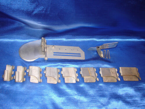 Industrial Sewing Machine Set of Hemmers Attachments - West German made