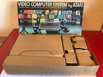 Rare Boxed Cherry Leisure Pal Heavy Sixer Atari 2600 Woody Sunnyvale Console