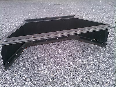New 7 84 Skid Steer Loader Manure Scrapersnow Pusher- Amish Made-tractor Plow
