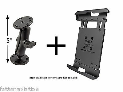 RAM Flat Surface Mount for iPad Mini, Versions 1-3, Use with  Lifeproof Case