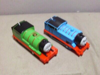 Thomas and Friends Trackmaster motorized Percy and Thomas 2013
