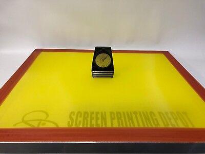 Screen Printing Frame 20 X 24 200 Yellow Mesh-55 Micron-27 Newton-made In Usa