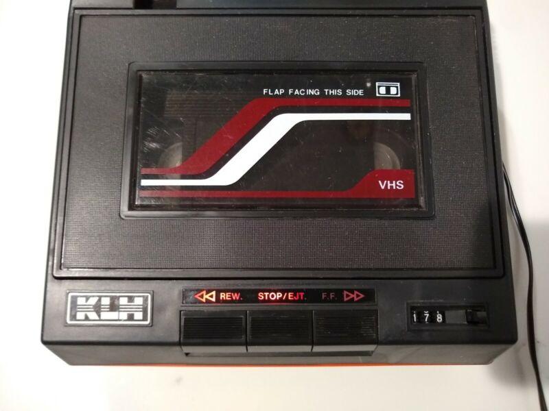Vintage KLH LR-90A Video Cassette VHS Rewinder/Fast Forwarder. Tested