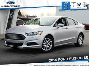 2015 Ford Fusion SE ** SIEGES CHAUFFANTS*CAMERA*BLUETOOTH**