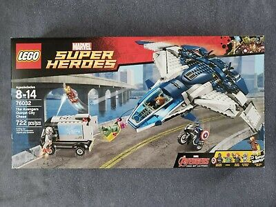 LEGO 76032 Marvel Super Heroes The Avengers Quinjet City Chase New Retired