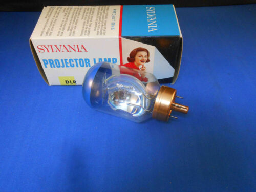 DLR  SYLVANIA PROJECTOR LAMP (BLUE TOP) 10 HOURS 250.W / 21.5 A NEW OLD STOCK