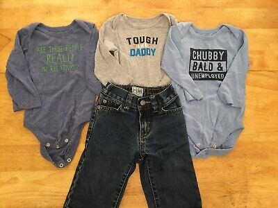 Infant boy clothes 6-9 months 24 pieces. Many name brands
