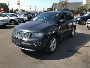 2014 Jeep Compass HIGH ALTITUDE - SUNROOF, LEATHER HEATED SEATS!