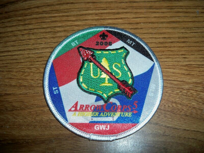 OA, 2008 ArrowCorps5 3-D Event Patch