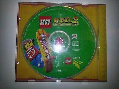 CD ROM Lego Insel 2 Spielen Lernen Schule Kinder Jungen Mädchen Familie Geschenk (Mädchen Lego Spiele)
