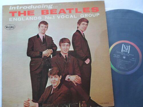 THE BEATLES 1964__Introducing THE BEATLES__Original VEEJAY LP  VJLP-1062
