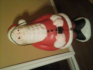 santa blow mold xmas decoration