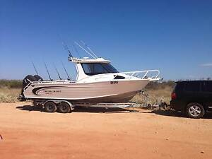 Trailcraft 8M hardtop with Twin 200hp Mercury Verado's Wanneroo Wanneroo Area Preview