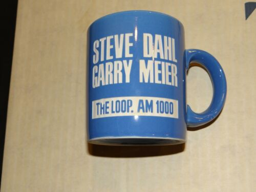Steve Dahl & Garry Meier The Loop AM 1000 Radio Chicago Coffee Mug