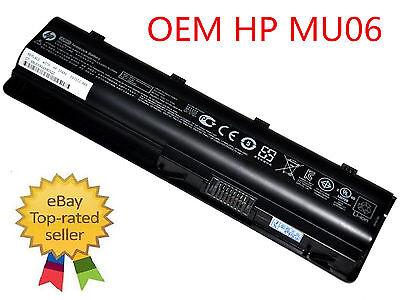 593553-001 593554-001 - New HP Original Battery - MU06 Genuine OEM 47WH