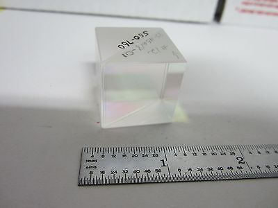 Optical Cube Beam Splitter Laser Optics As Is Bind2-p-6