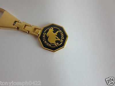AUTH VINTAGE HUNTING WORLD KEY HOLDER USED MADE IN ITALY