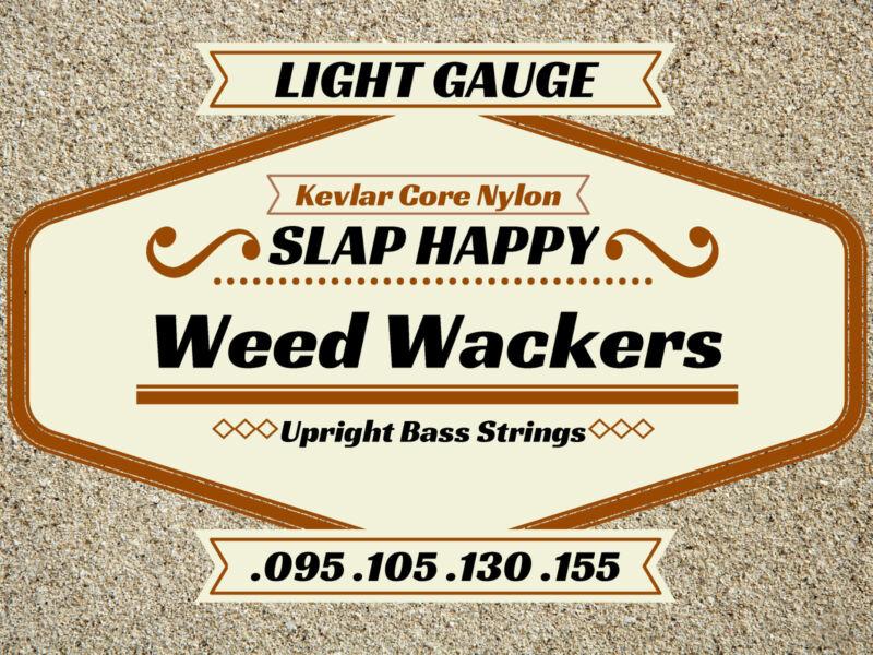 ~NEW LIGHT GAUGE Upright Double BASS WEEDWACKER STRINGS