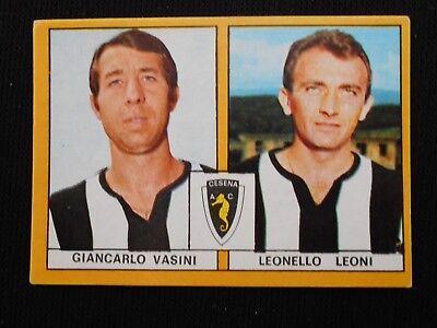 ***CALCIATORI EDIS 1969/70*** VASINI-LEONI (CESENA) NUOVA !!!