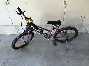 "Girl's bike with 20"" tires"