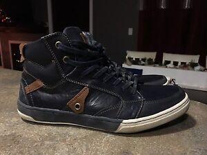 youth boy az7.5 leather shoes