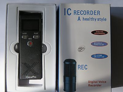 IC Digital Voice Recorder 8 GB