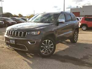 2018 Jeep Grand Cherokee LIMITED**4X4**LEATHER**SUNROOF**NAV**BL