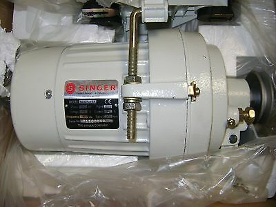 New Singer 12 Hp 110 Volt 3450 Rpm Industrial Sewing Machine Clutch Motor