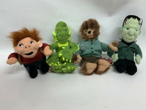 CVS Frankenstein, Werewolf,  Hunchback, Creature From The Black Lagoon Plush 9""