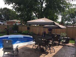 High top outdoor patio set