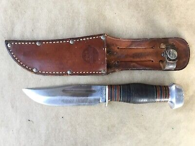 Vintage Remington UMC RH-34-5 Hunting Knife W/Original Remington UMC Sheath