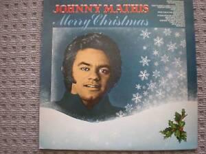 lp vinyl johnny mathis merry christmas - Johnny Mathis Merry Christmas