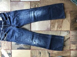 Diesel Zathan 30 by 30.5 - 0071S wash jeans. Worn twice!