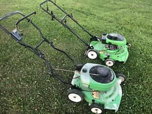 SELLING 2 LAWN-BOY LAWN MOWERS FOR PARTS —- CHEAP! 120$ FOR BOTH