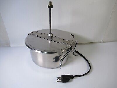 Replacement 12 Oz Kettle For Popcorn Machine Great Northern 4082 Olde Midway