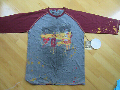 "NWT Dragonfly Clothing Company ""Dragonfly"" Baseball T-shirt, Size M"