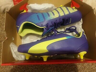 PUMA EVOSPEED5 FOOTBALL BOOTS SIZE 5 (EU 38) brand new in box