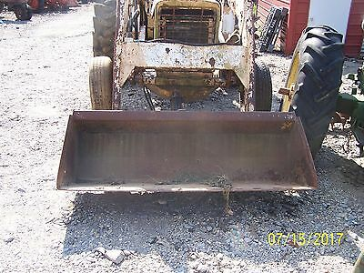 International 656 Utility Tractor And Loader Needs Engine Overhaul
