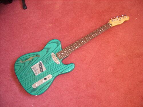 Quality Custom thinline telecaster, Fender neck.