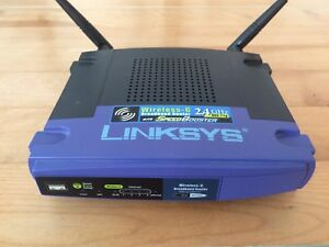 Routeur sans-fil wifi linksys WRT54GS