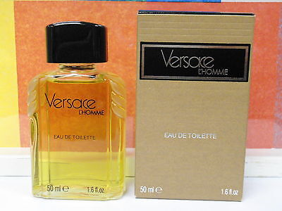 VINTAGE OLD FORMULA VERSACE L'HOMME 1.6 FL OZ / 50 ML DAB ON NEW IN BOX